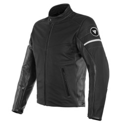 Saint Louis Leathe Jacket Black