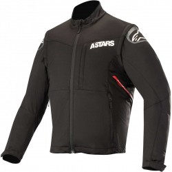 Session Race Jacket Black Red