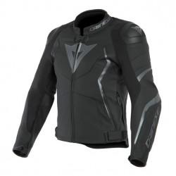 Avro 4 Lather Jacket Black Matt Antracite