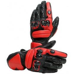 Impeto Gloves Black Lava Red