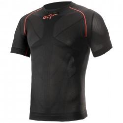 Ride Tech V2 Short Sleeve Summer Black Red