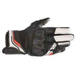 Booster V2 Gloves Black White