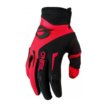 Element Youth Glove Red Black