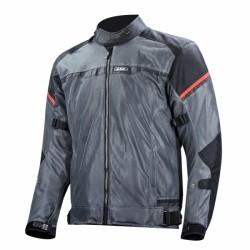 Riva Man Jacket Black Dark Gray Red