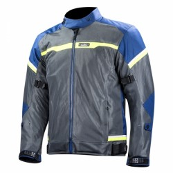 Riva Man Jacket Blu Dark Gray Yellow