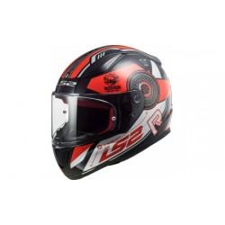 FF353 Rapid Stratus Gloss Black Red Silver