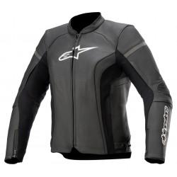 Stella kira v2 leather jacket black