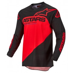 Racer Supermatic Jersey Black Brigh Red