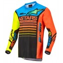 Racer Compass Black Yellow Fluo Coral