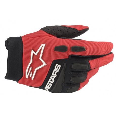 full bore gloves kids red