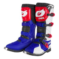 Rider Pro Boot blue Red White