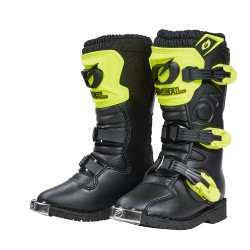 Rider Pro Boot blue youth neon yellow