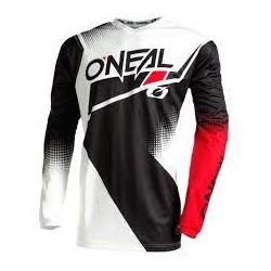 Element  Jersey Racewear V.22 Black White Red