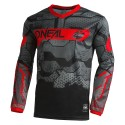 Element Youth Jersey Camo V.22 Black Red