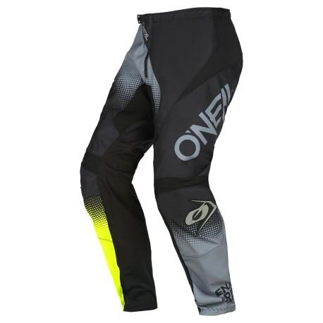 Element Pants Racewear v22 Black Gray Neon Yellow
