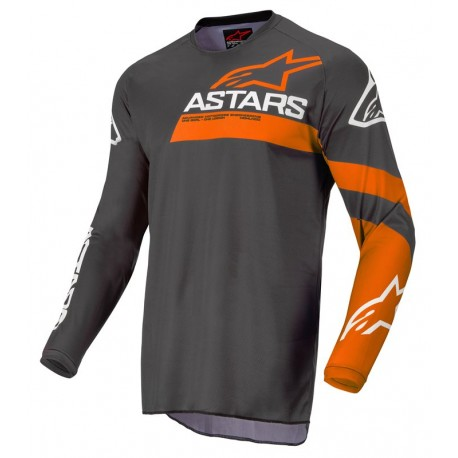 Fluid Chaser Jersey Antracite Coral Fluo