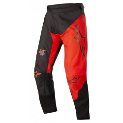 Racer Supoermatic Pant Black Bright Red
