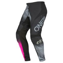 Element Women Pants Racewear V.22 Black Gray  Pink