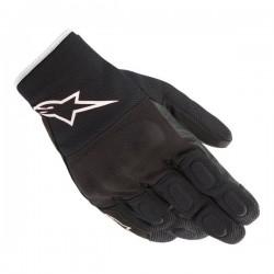 S Max Drystar Gloves Black White