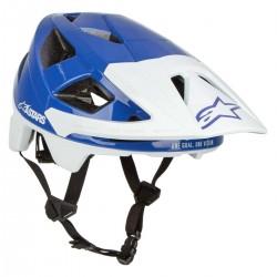 Vector Pro A1 Helmet Mid Blue Light Gray Glossy
