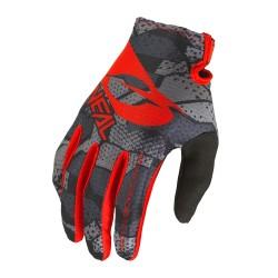 Matrix youth  glove camo v22 black red