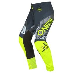Element youth Pants Camo V.22 Gray Neon Yellow