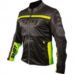 Softshell Jacket Lite 2.0 Black Yellow