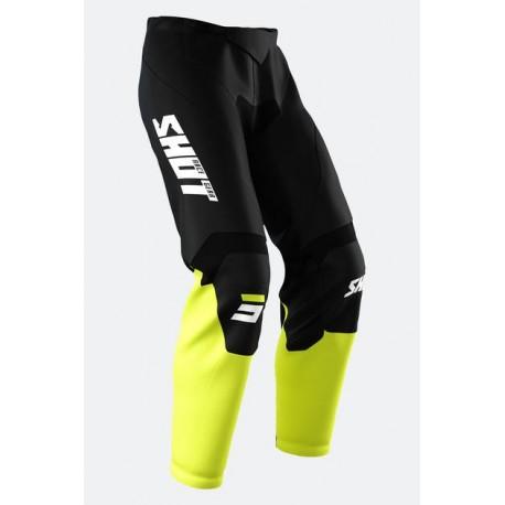 Burst Pants Black Yellow