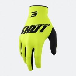 Burst Gloves Yellow Black
