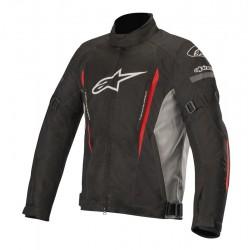 Gunner V2 WP Jacket Black Gray red