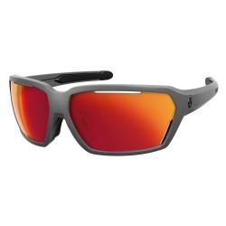 Vector Sunglasses Gray Red Chrome